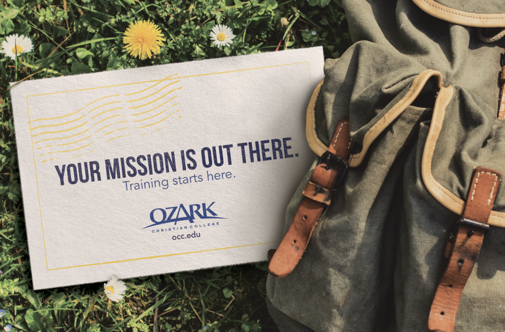 Ozark Christian College Recruitment Postcard