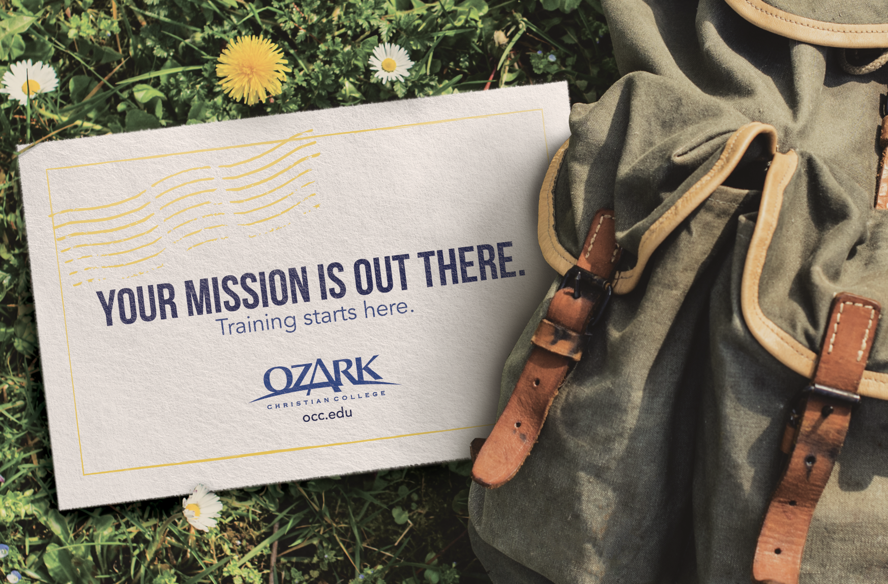 Ozark Christian College Recruitment Postcard